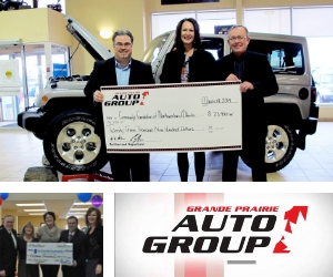 Grande Prairie Auto Group – Giving Back