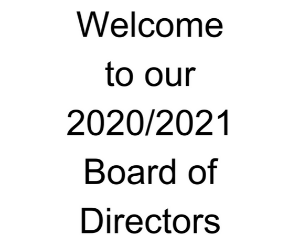 Welcome to our New Board of Directors!